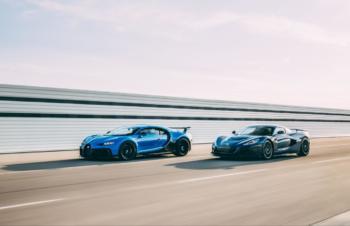 Porsche, Rimac und Bugatti vereinbaren Gründung von Bugatti-Rimac