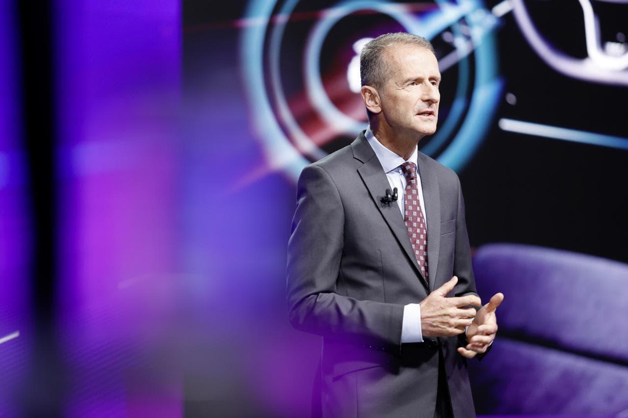 """VW-Chef Diess: """"E-Autos brauchen bald keine Prämie mehr"""""""