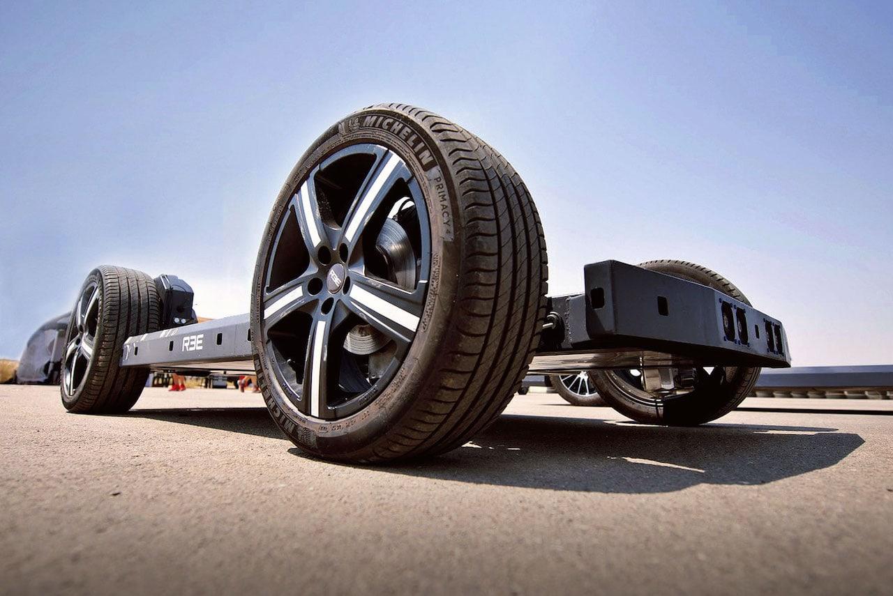 REE-E-Fahrzeug-Platform