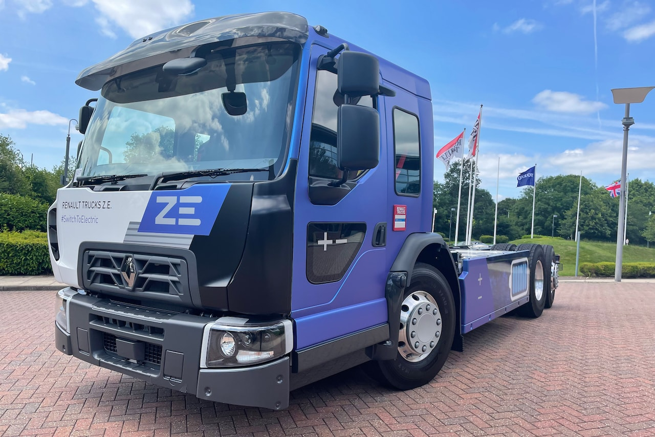 Renault Trucks D Wide Z.E. LEC Elektro-Lkw