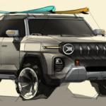 SsangYong X200 – eine weitere futuristische Elektro-SUV-Studie