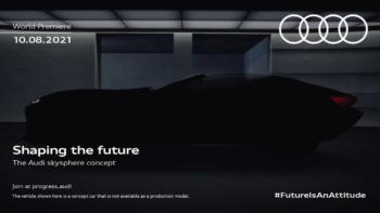 Audi gibt ersten Ausblick auf Skysphere-Studie frei