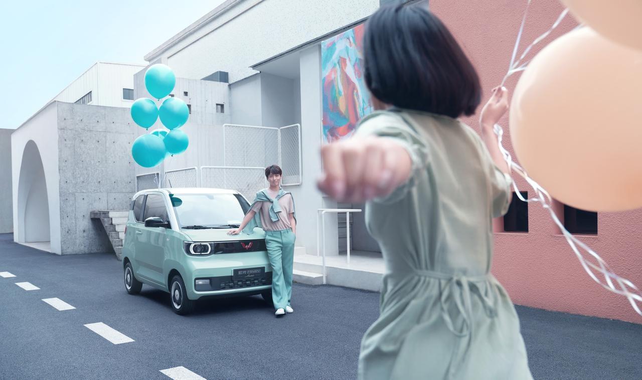 China: Wuling Hong Guang Mini EV erreicht 30.000 Verkäufe pro Monat