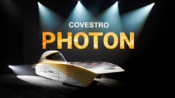 Covestro Photon nutzt 95% seiner Fahrzeugfläche durch Solarmodule aus