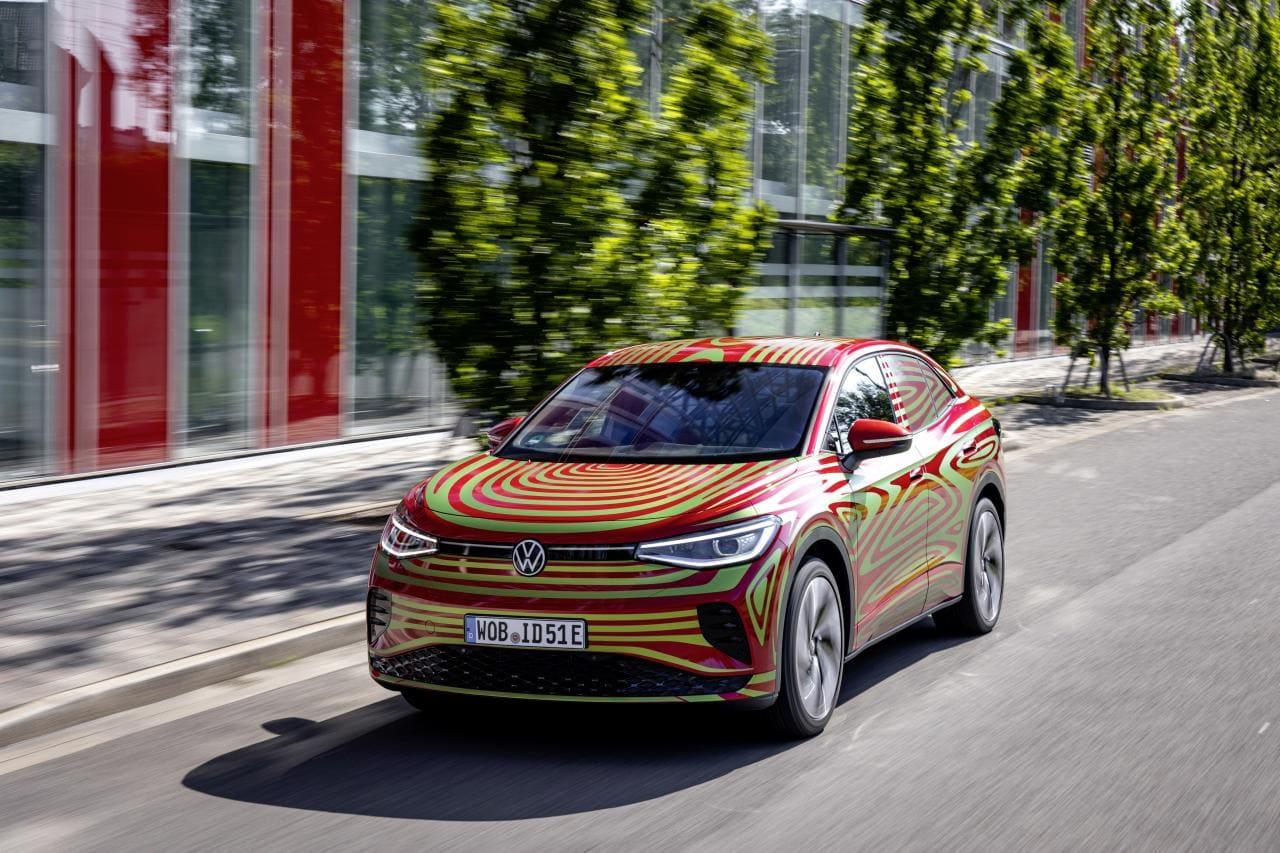 VW ID.5 GTX: E-Coupé auf hohen Beinen