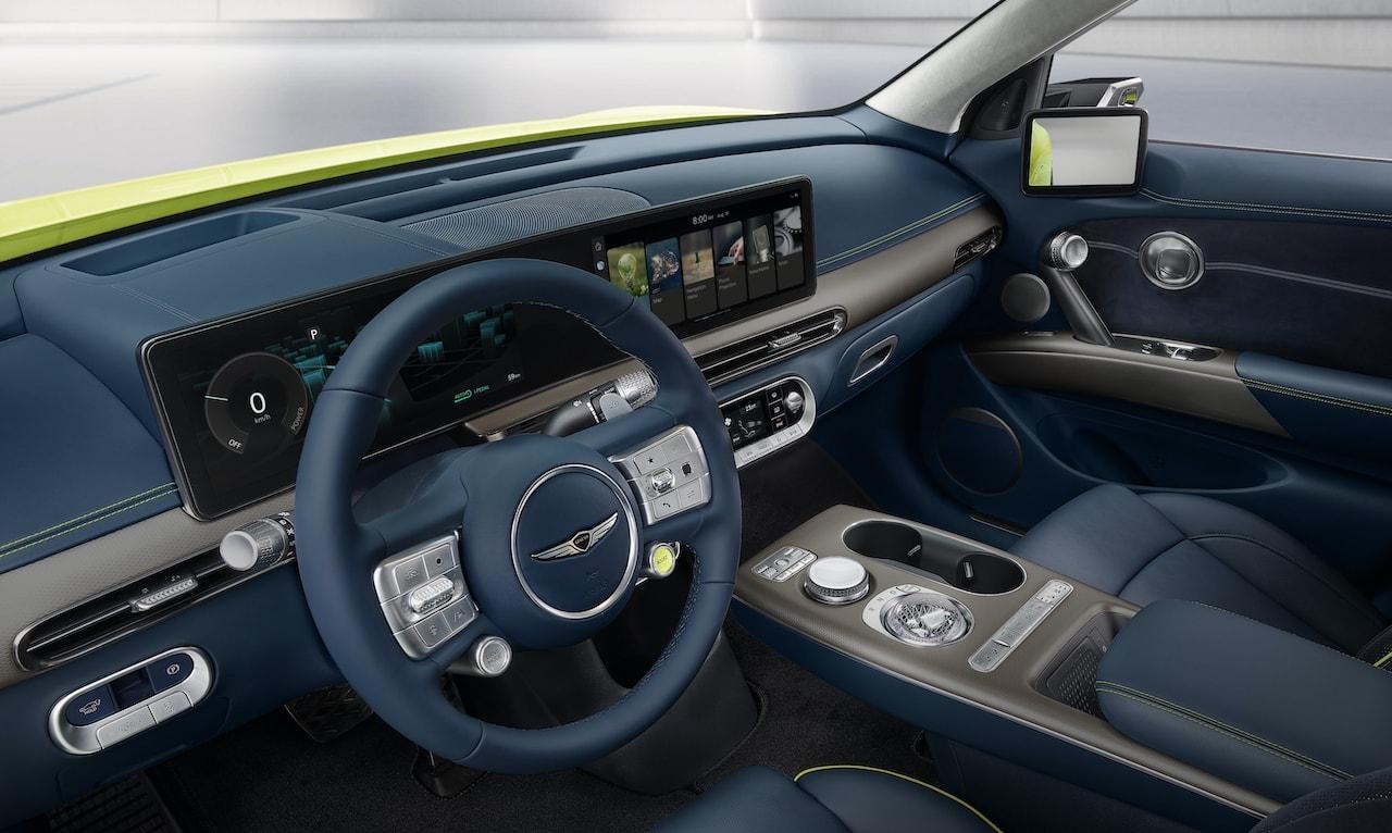 Elektroauto-Genesis-GV60-Cockpit