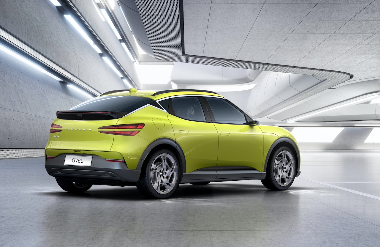 Elektroauto-Genesis-GV60-Heck