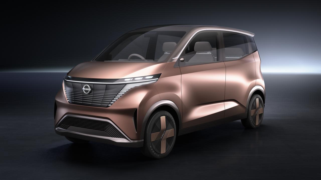 Nissan kündigt Elektro-Minifahrzeug für Japan an