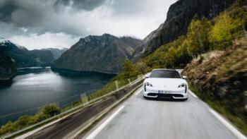Porsche-Taycan-Norwegen-Elektroautos