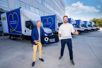 IKEA erhält 30 Elektrotransporter von Quantron