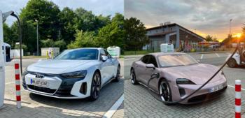 Audi e-tron GT vs. Porsche Taycan