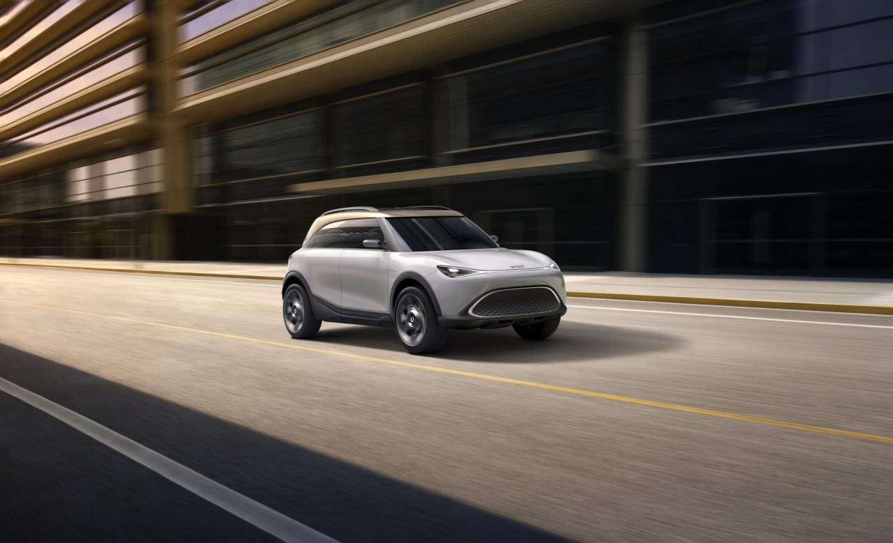 smart Concept #1 bringt Premium und Hightech in den Kleinwagen-Sektor
