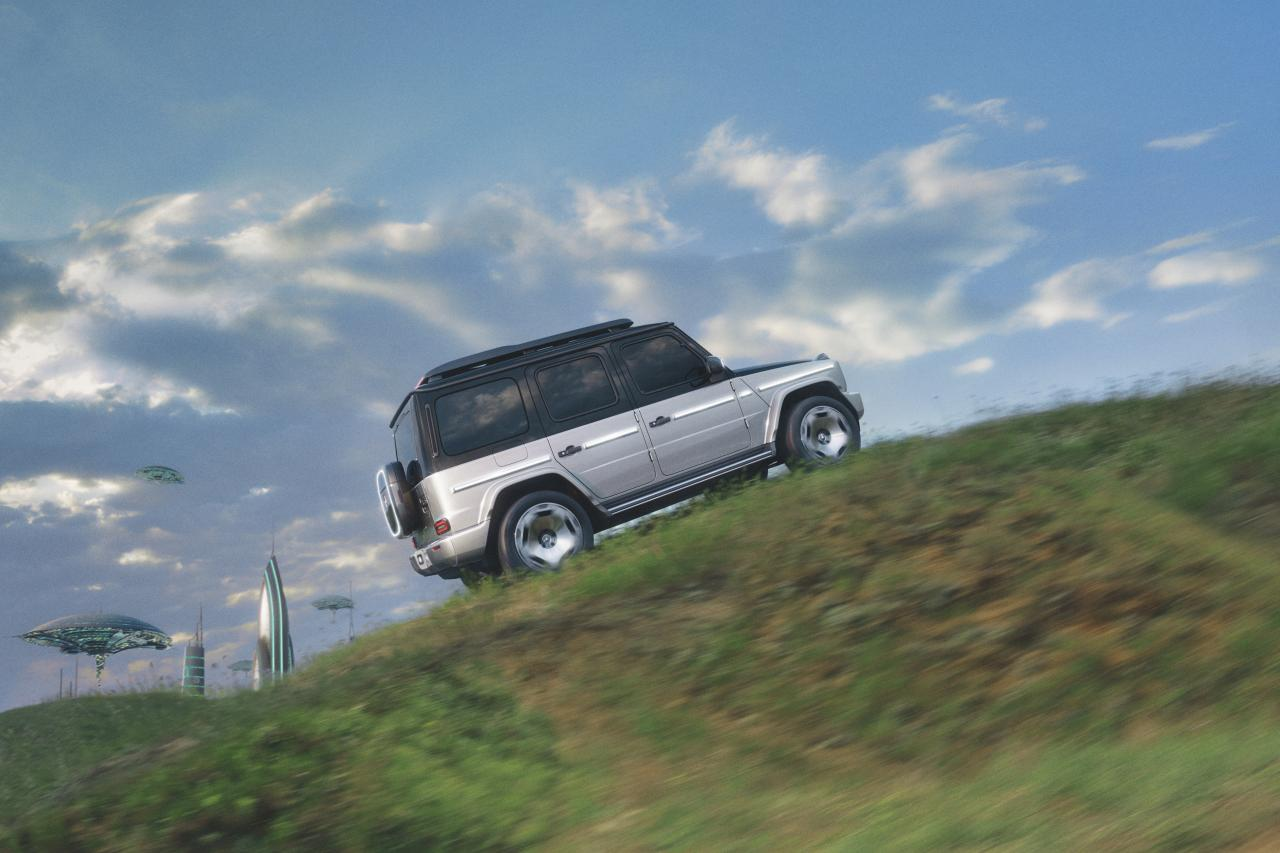 Mercedes-Benz G-Klasse als EQG bereit für das Zeitalter der E-Mobilität