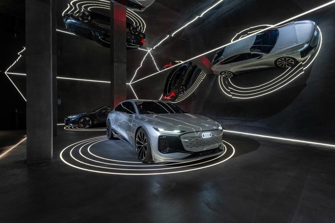 Audi stellt A6 e-tron concept in den Fokus; abseits der IAA 2021
