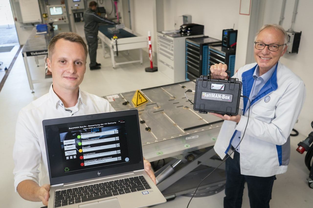 Audi-Elektroauto-Batterie-BattMAN-Prüfsoftware