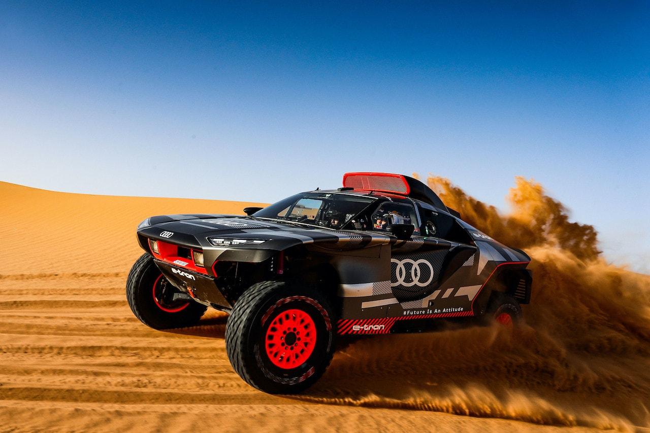 Audi-Elektroauto-RS-Q-e-tron-Rallye-Dakar