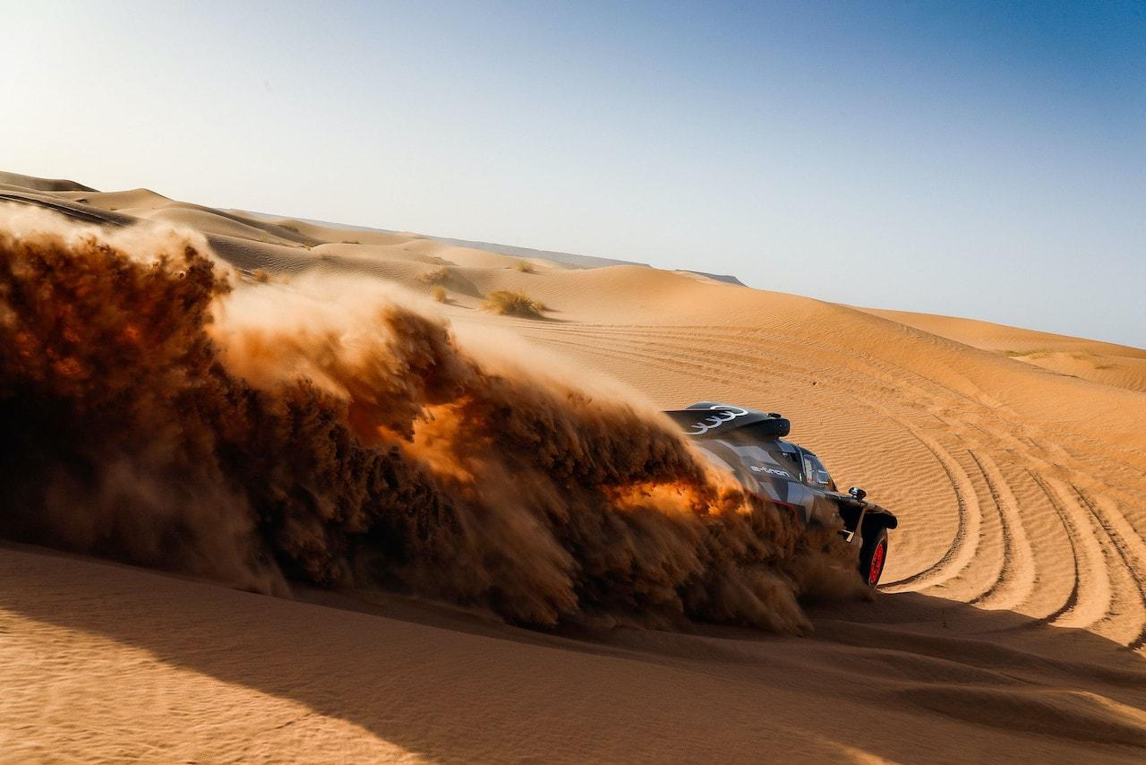 Audi-Rallye-Dakar-Elektroauto