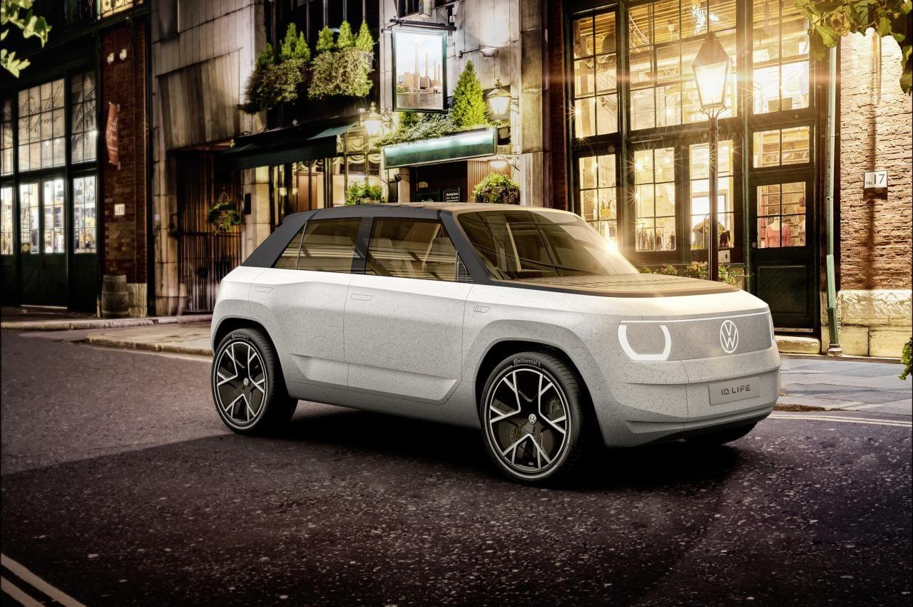 ID. LIFE: Ausblick auf die Elektro-Einsteigermodelle bei Volkswagen