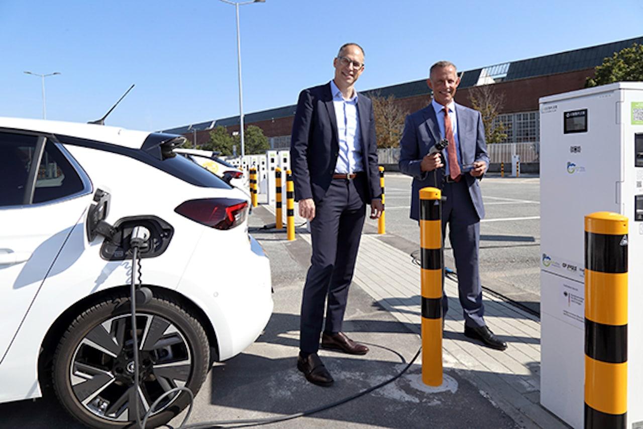 Elektroauto-Ladeinfrastruktur-Rüsselsheim