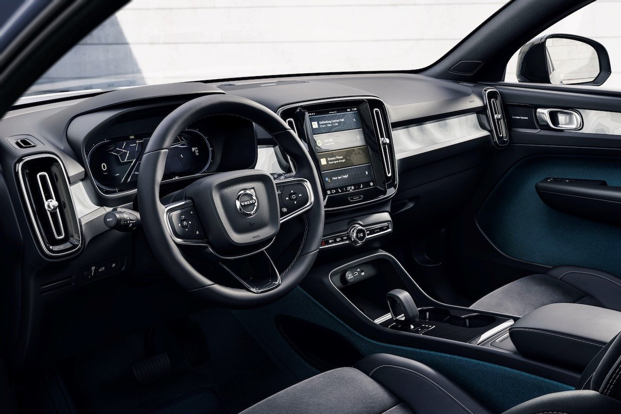 Elektroauto_Volvo_C40_Recharge_Interieur