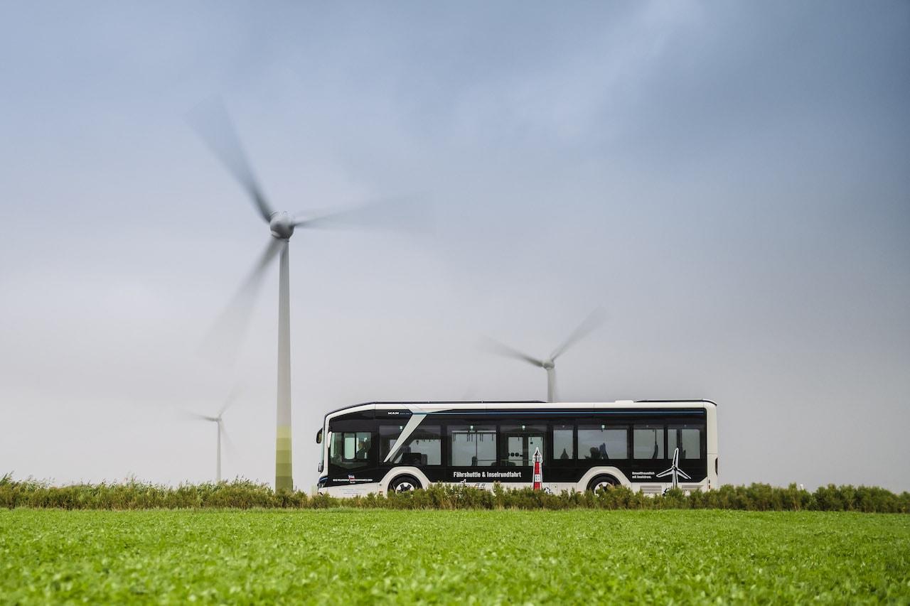 Elektromobilität-ÖPNV-Elektrobus