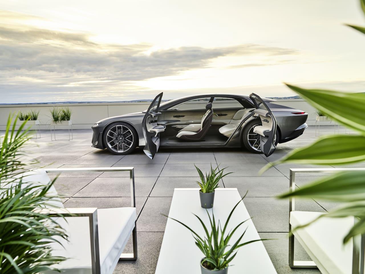 Audi Grandsphere (2025): Dieses Concept Car soll bald in Serie gehen