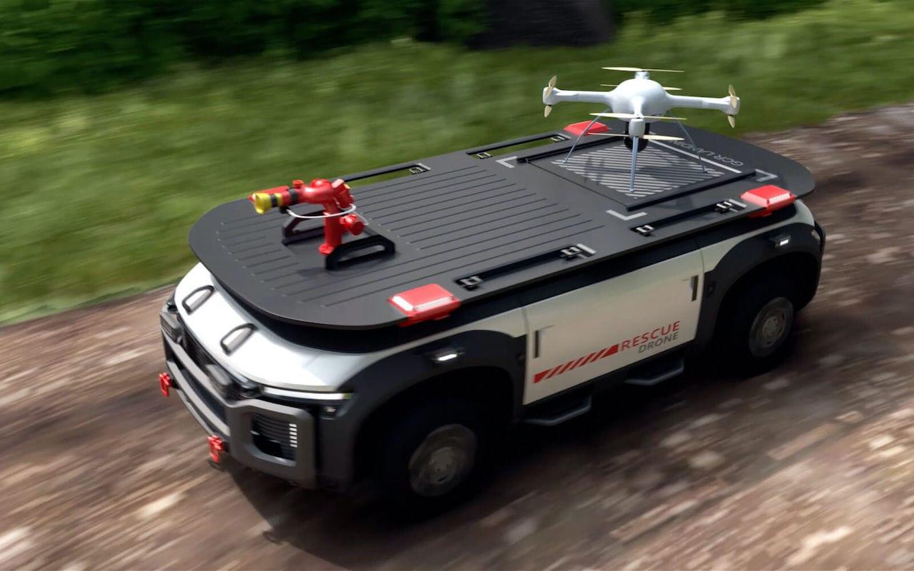 Hyundai-Wasserstoff-Brennstoffzelle-Rescue-Drone