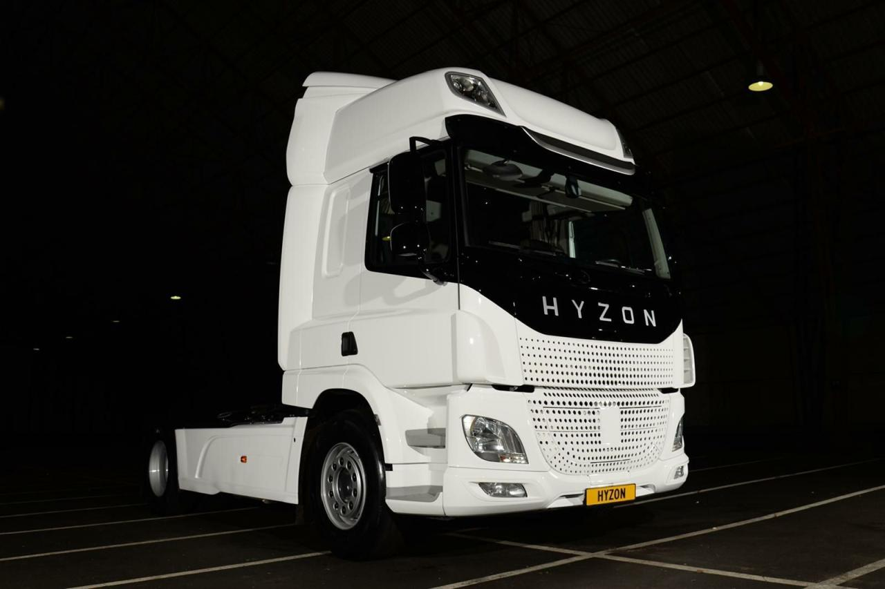 Hyzon liefert 500 Wasserstoff-LKW an Logistikunternehmen in Shanghai