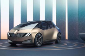 BMW i Vision Circular: Kompakter Stromer mit konsequentem Fokus auf Nachhaltigkeit und Luxus
