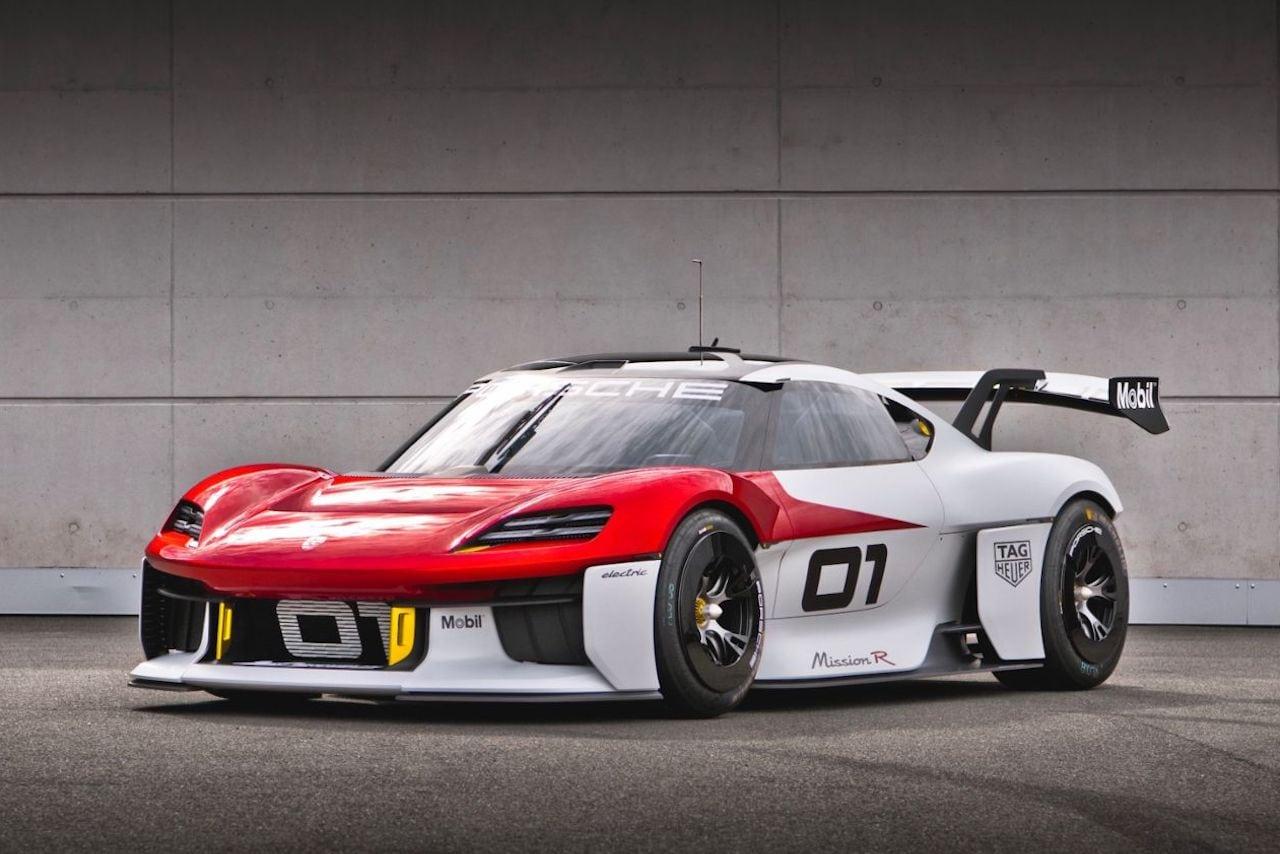 Porsche-Mission-R-Elektro-Sportwagen