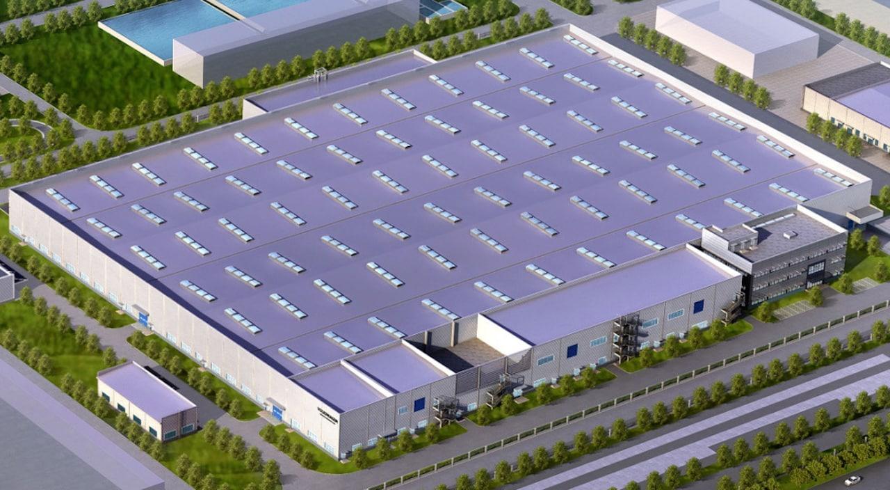 Volkswagen-Batteriemontage-Elektroauto-China