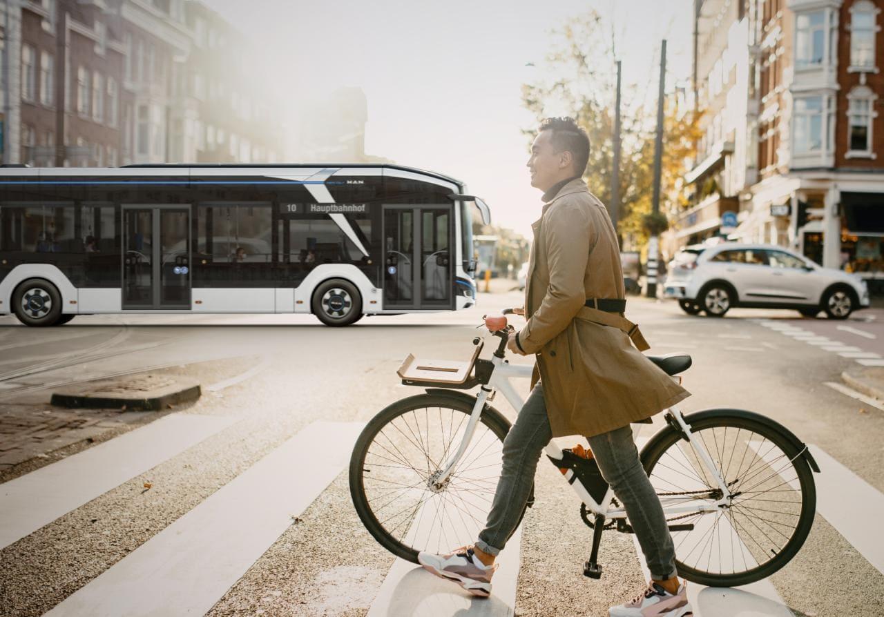 """""""NewMAN"""": elektrisch, emissionsfrei, autonom und digital – das ist MANs Zukunfts-Strategie"""