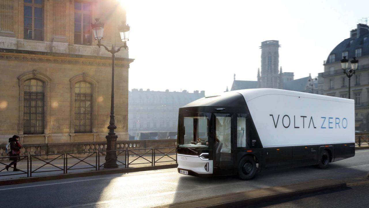 Nachhaltigster E-LKW Volta Zero wird von Steyr in Österreich produziert