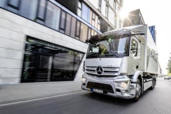 Produktionsstart für Mercedes-Lkw eActros