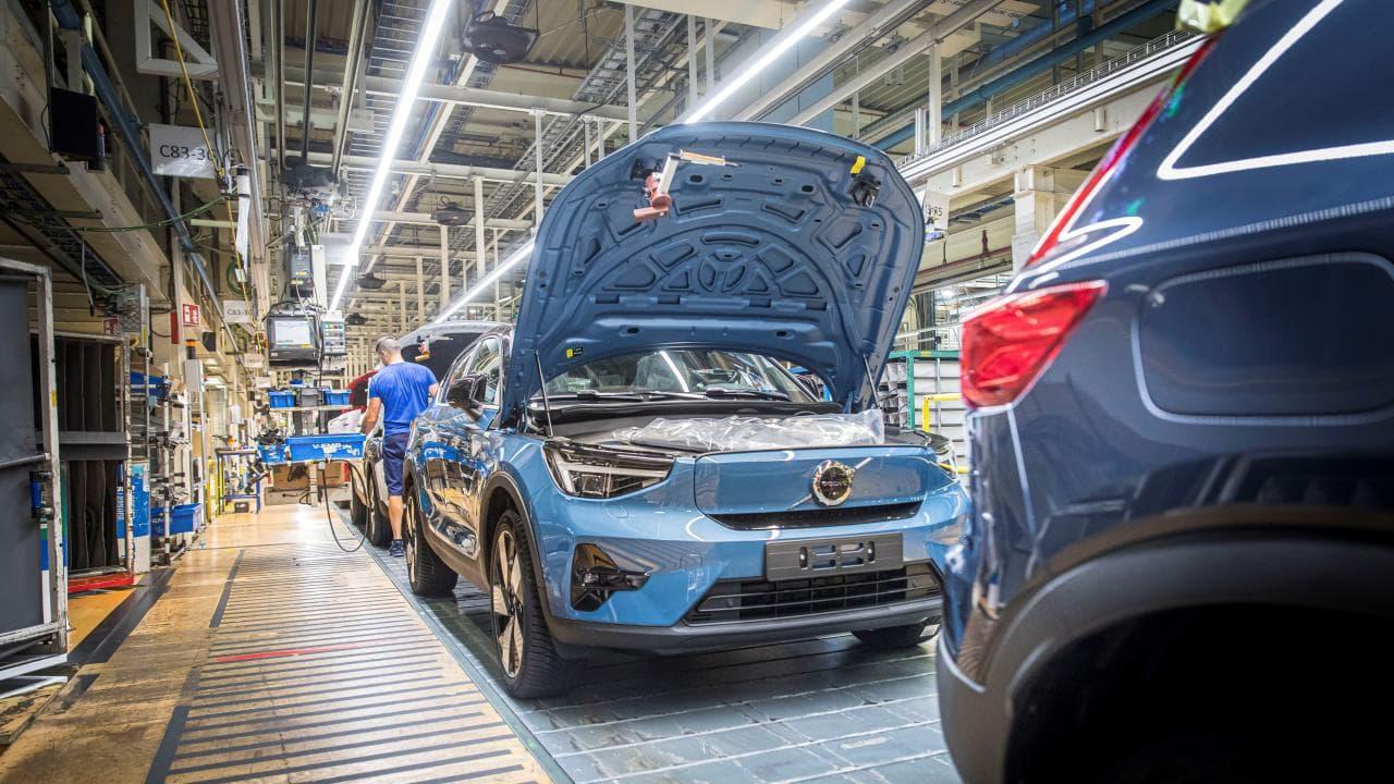 Produktionsstart für Volvo C40 Recharge Pure Electric