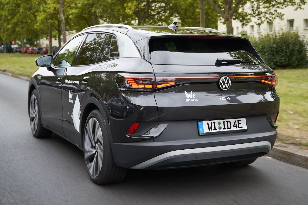 Elektroauto-Carsharing-Berlin-VW-We-Share-ID4