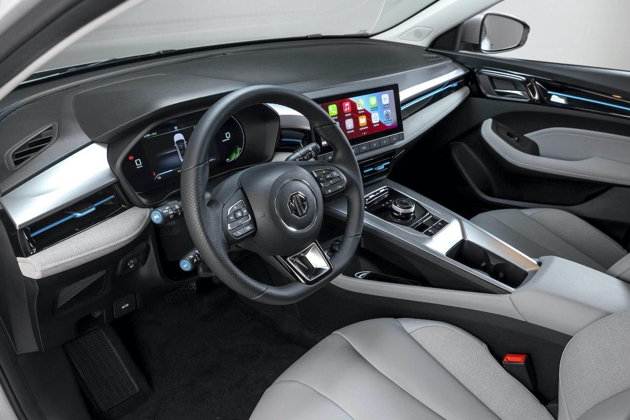 Elektroauto-Kombi-MG5-Innenraum