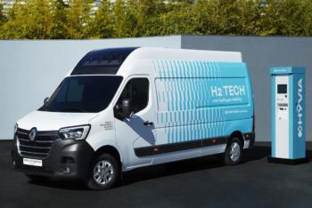 Renault-Joint-Venture Hyvia stellt H2-Transporter mitsamt Tankstelle vor