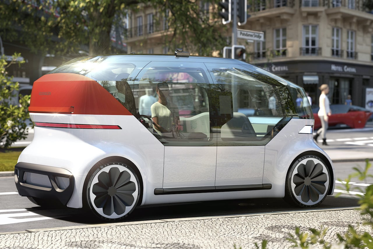 Volkswagen-OnePod-Autonomes-Elektrofahrzeug