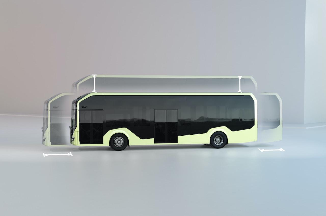 Volvo BZL Electric Elektrobus Chassis-Aufbauten
